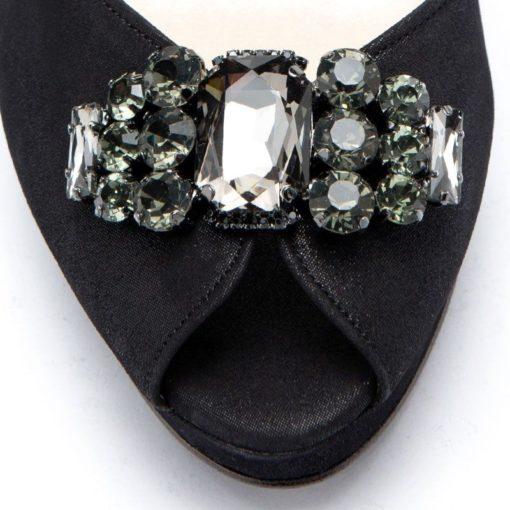 Zapatos negros peltre fiesta mujer RALLYS