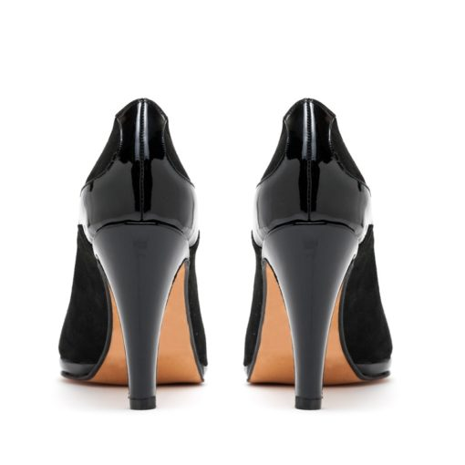 Zapatos mujer negros charol fiesta RALLYS