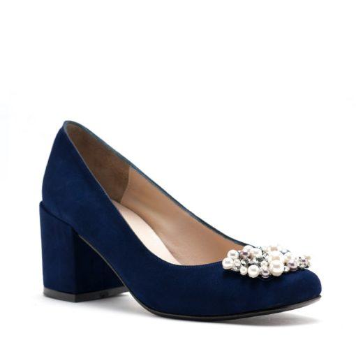 Zapatos gamuza azul fiesta RALLYS