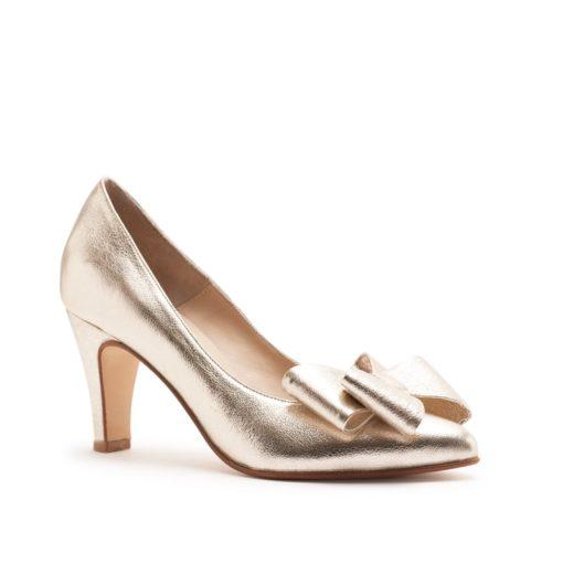 Stilettos platino moño RALLYS