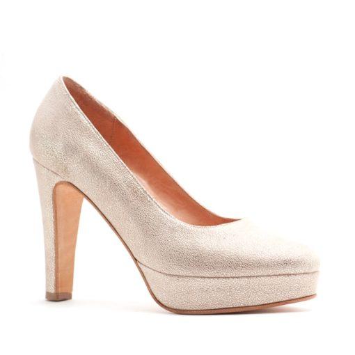 Zapatos altos fiesta nude mujer RALLYS