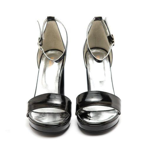 Sandalias altas negras RALLYS
