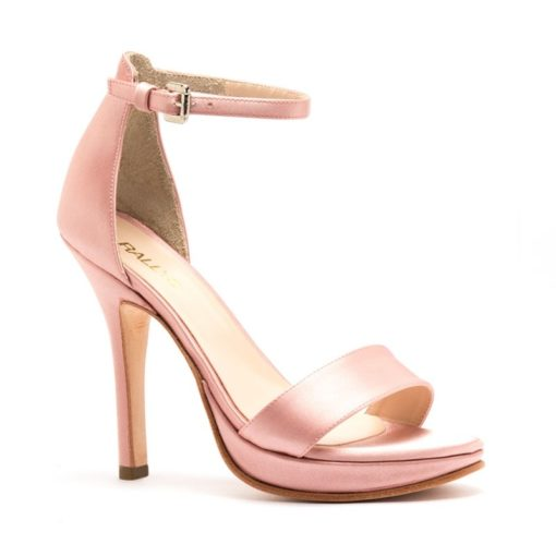 Sandalias raso rosa fiesta RALLYS