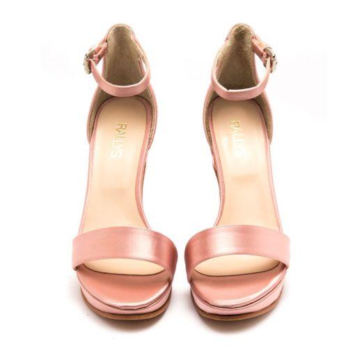 Sandalias mujer rosas fiesta RALLYS