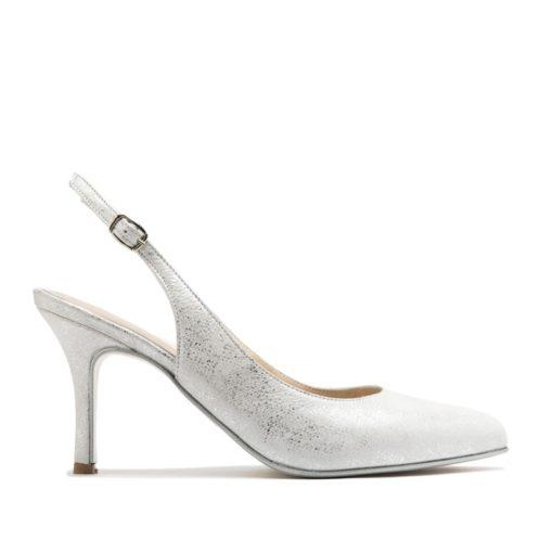 Zapatos mujer plateados fiesta RALLYS