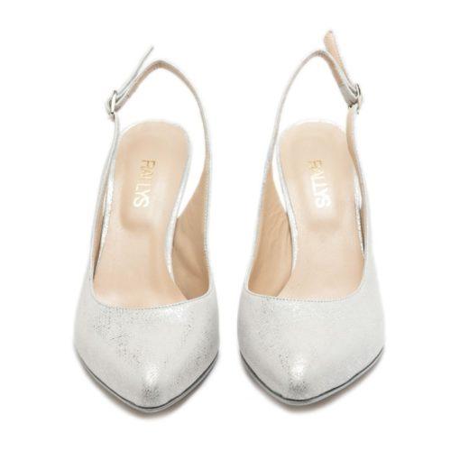 Zapatos mujer color plata RALLYS