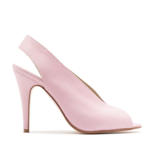 Zapatos rosas cuero RALLYS