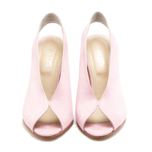 Zapatos rosas gamuza RALLYS