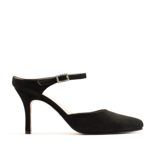 Zapatos gamuza en color negro RALLYS