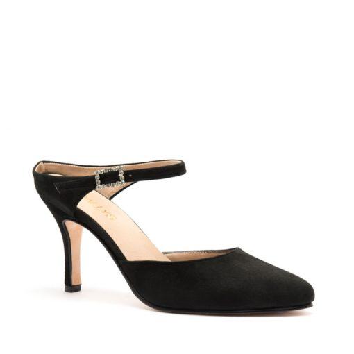 Sandalias negras punta cerrada RALLYS