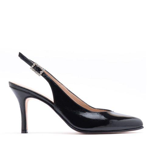 Zapatos taco alto charol negro RALLYS