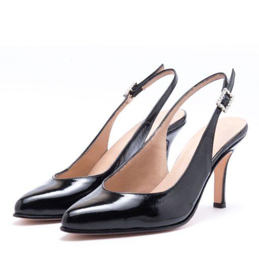 Zapatos de fiesta en charol negro RALLYS