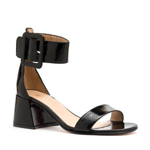 Sandalias bajas negras con pulsera RALLYS