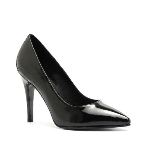 Zapatos negros altos charol RALLYS