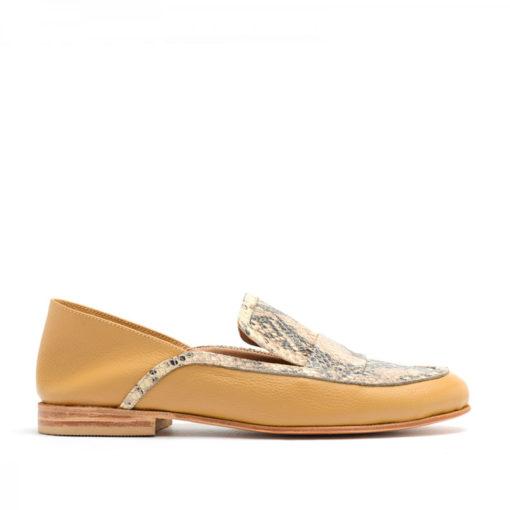 Zapatos cerrados bajos camel mujer RALLYS