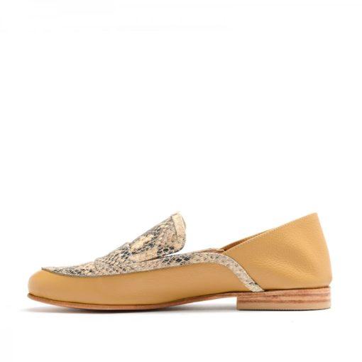 Zapatos bajos camel mujer RALLYS