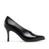 Zapatos cerrados taco fino negros mujer RALLYS