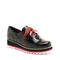 Zapatos cerrados negros plataforma liviana RALLYS