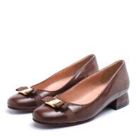 Zapatos en cuero color marrón RALLYS