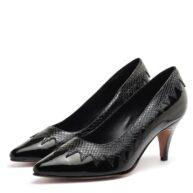 Stilettos taco medio mujer color negro RALLYS