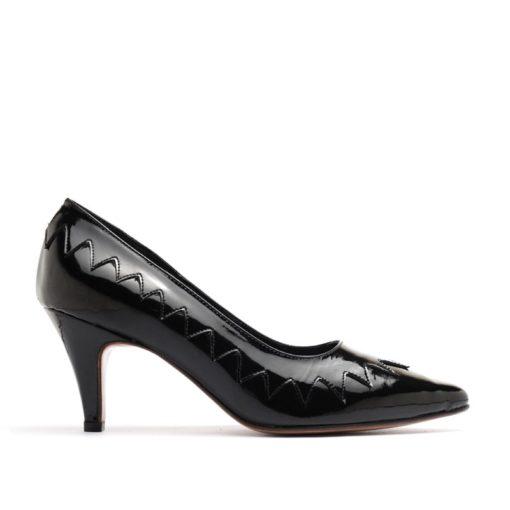 Stilettos negros mujer taco medio RALLYS