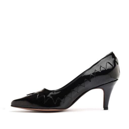 Stilettos zapatos taco medio charol RALLYS