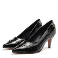 Stilettos negros bajos RALLYS
