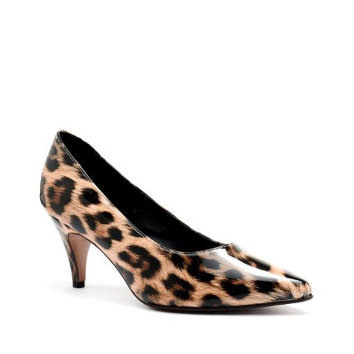 Zapatos charol leopardo RALLYS