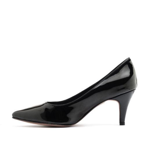 Stilettos charol negro mujer RALLYS