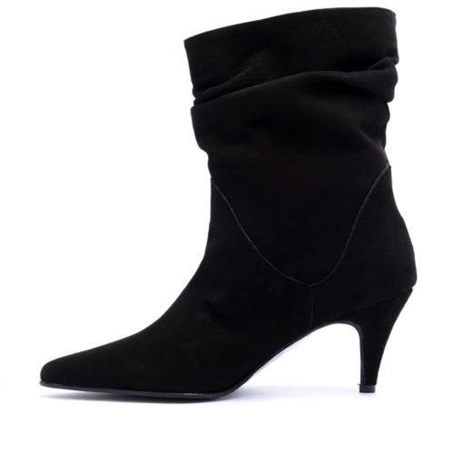 Bota vestir gamuza negra RALLYS