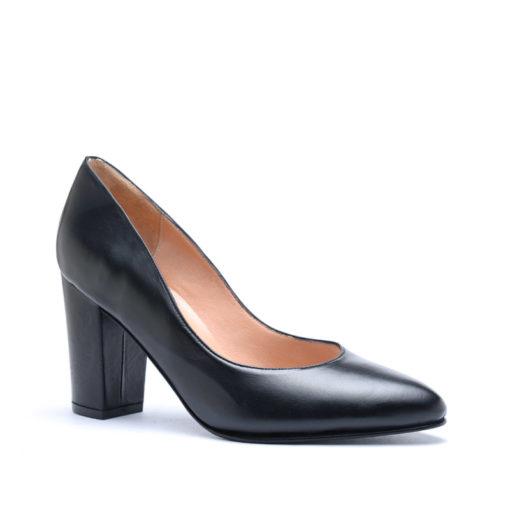 Zapatos mujer negros taco alto RALLYS
