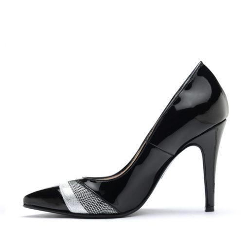 Stilettos mujer negros RALLYS