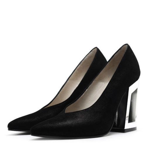 Zapatos multipunto negro RALLYS