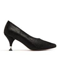 Zapatos punta negros mujer RALLYS