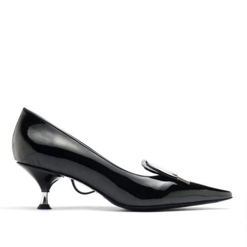 Zapatos con hebilla charol RALLYS