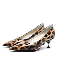Zapatos taco medio animal print RALLYS