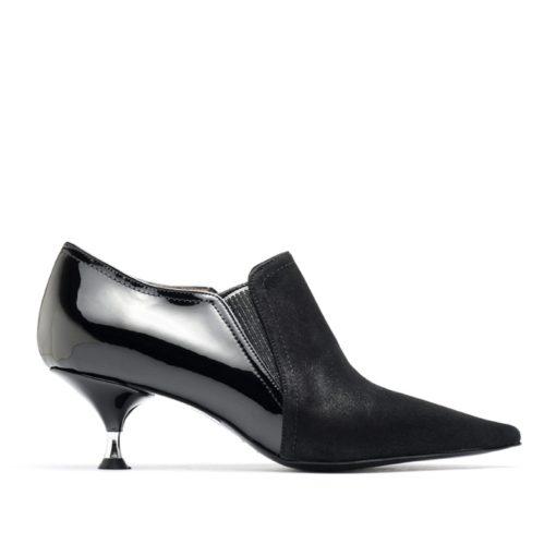 Zapatos en punta negros RALLYS