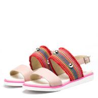 Sandalias multicolor de cuero RALLYS