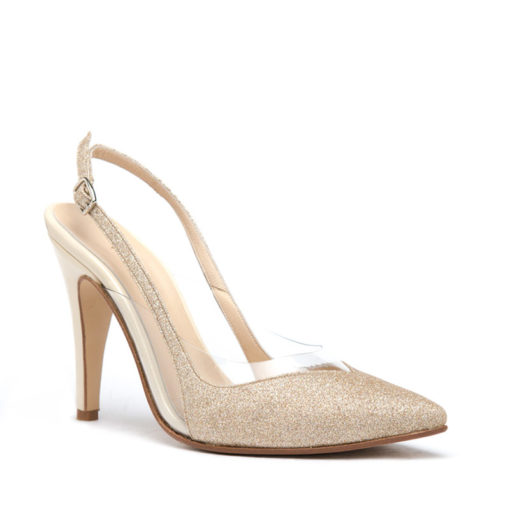 Zapatos champagne RALLYS