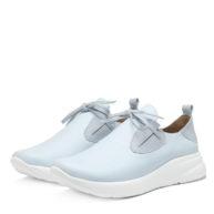 Zapatillas celestes sin cordones RALLYS