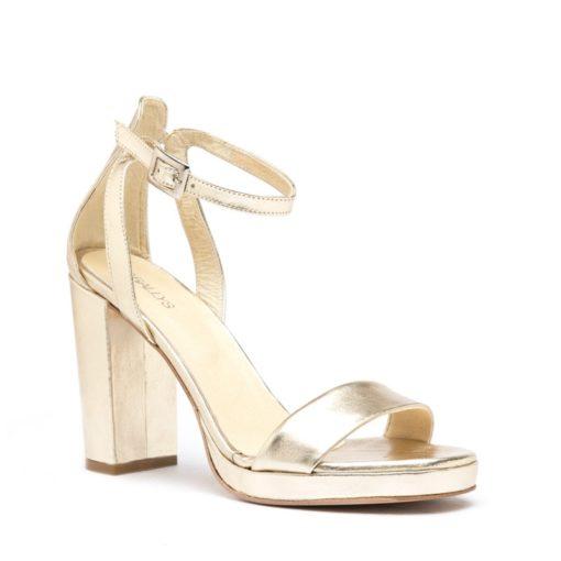 Sandalias mujer color platino RALLYS