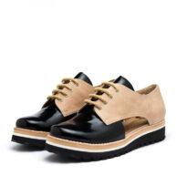 Zapatos suela negro mujer RALLYS