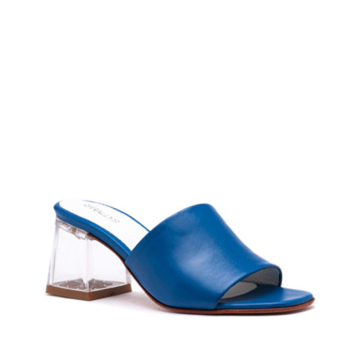 Zuecos azul mujer RALLYS