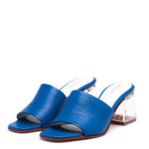 Zuecos azules mujer RALLYS