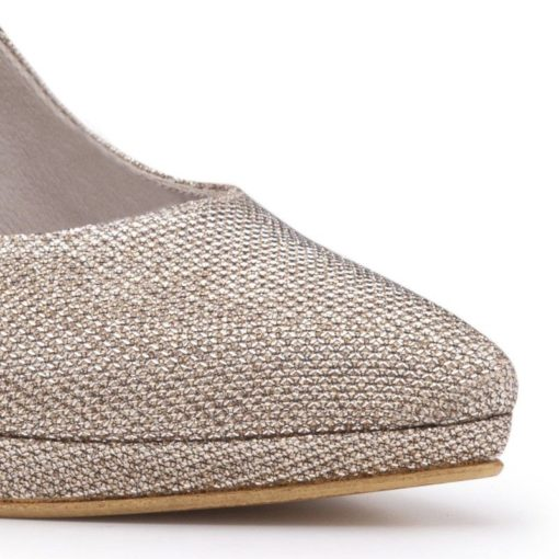Zapatos dorados mujer RALLYS