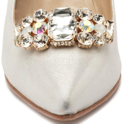 Zapatos con strass plata RALLYS