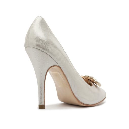 Zapatos color plata fiesta RALLYS