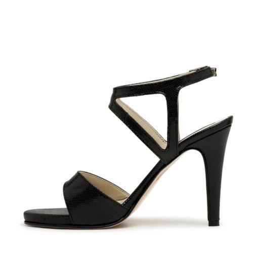 Sandalias clásicas negras mujer RALLYS