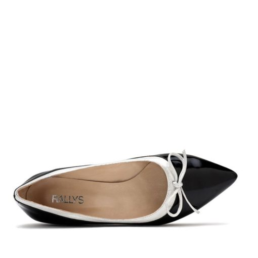 Chatitas en punta negro plata RALLYS