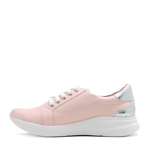 Zapatillas para Mujer en cuero color rosa